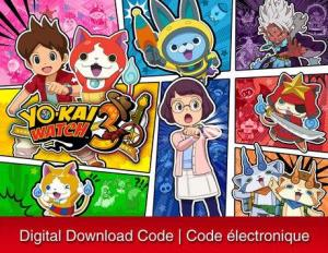 Nintendo 3Ds Yo-Kai Watch 3 [Download] 6000199498537
