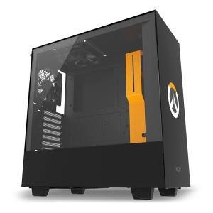 CASE ATX NZXT H500 TG OVERWATCH BLACK/ORANGE