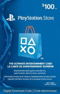 Sony Playstationnetwork - $100 Playstation Store Gift Card [Digital Download] 6000198377082