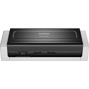 Brother ADS-1250W Wireless Compact Desktop Scanner - 48-bit Color - 25 ppm (Mono) - 25 ppm (Color) - Duplex Scanning - USB ADS1250W