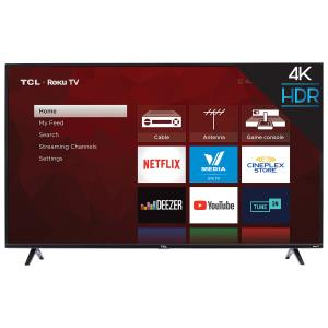 "TCL 4-Series 55"" 4K UHD HDR LED Roku OS Smart TV (55S425-CA)"