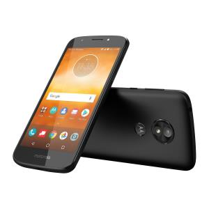Motorola Moto E5 Play, XT1921, 5.2-inch LCD, 16GB, Unlocked, Android 8.0, Retail Packaging (Black) - with Fingerprint Reader