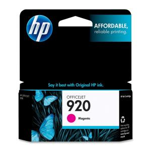 HP 920 Ink Cartridge - Magenta - Inkjet - Standard Yield - 300 Pages - 1 / Pack CH635AN#140