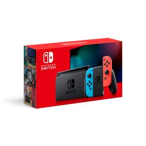 Nintendo Switch Console with Neon Red/Blue Joy-Con HADSKABAA