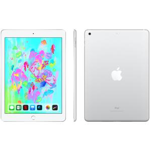 Rogers Apple iPad 6th Gen 128GB with Wi-Fi/4G LTE - Silver - Select 2-Year Agreement MR732CL/A