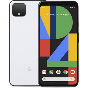 Google Pixel 4 64GB Smartphone - Clearly White - Open Box Pixel-4