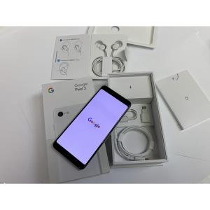 New Open Box Unlocked Google Pixel 3 64GB Clearly White + 1 Year Manufacturer Warranty