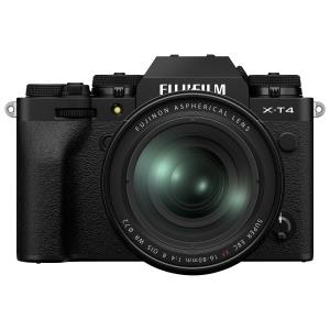 Fujifilm X-T4 Mirrorless Camera with 16-80mm Lens Kit - Black