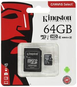 Kingston Sdcs64gbcr Microsdxc Class 10 Flash Memory Card Sdcs - Minimum Order Quantity 100
