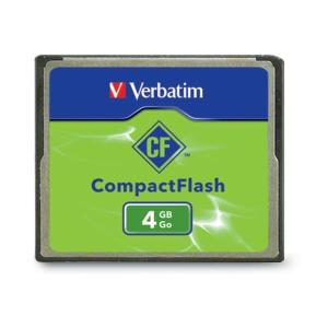 CompactFlash 4GB Memory Card