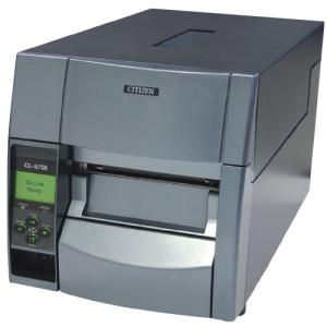 Citizen CL-S700 - Label printer - B / W - direct thermal / thermal transfer - Roll (4.65 in) - 203 dpi - up to 600 inch / min - Parallel, Serial,...