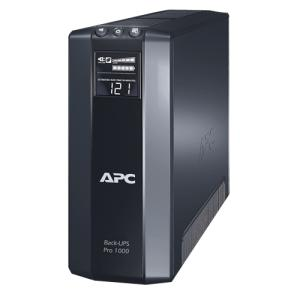 APC Back-UPS BR1000G Line-interactive UPS - 1000 VA/600 WTower 0.12 Hour Full Load - 4, 4 x NEMA 5-15R, NEMA 5-15R - Battery Backup System, Surge-protected
