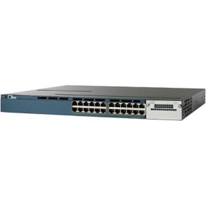 Cisco Catalyst WS-C3560X-24P-S Ethernet Switch - 24 Port - 2 Slot 24 - 10/100/1000Base-T - 2 x Network Module