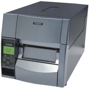 Citizen CL-S703 Direct Thermal/Thermal Transfer Printer - Label Print - Monochrome 10 in/s - 300dpi - 16 MB - 4 MB Flash - Parallel, Serial, USB