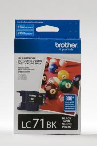 Brother Innobella LC71BK Ink Cartridge - Black - Inkjet - 300 Page - 1
