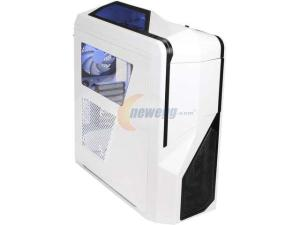 NZXT Phantom 410 ATX Steel Computer Case 3X5.25 6X3.5 3XUSB3.0 Audio and Mic Input - White CS-NT-PHAN-410-W/CA-PH410-W1