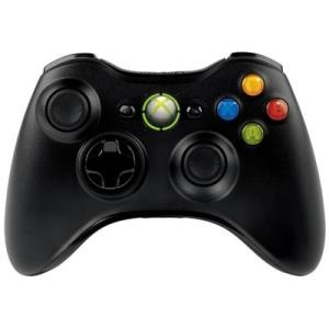 Microsoft Xbox360 Wireless Controller Black/Gloosy Black