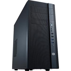 COOLER MASTER N Series NSE-400-KKN2 (N400) Midnight Black Computer Case