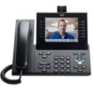 Cisco 9971 IP Phone - Wireless - Wi-Fi - VoIP - IEEE 802.11a/b/g - Caller ID - USB - PoE Ports CP-9971-C-CAM-K9=