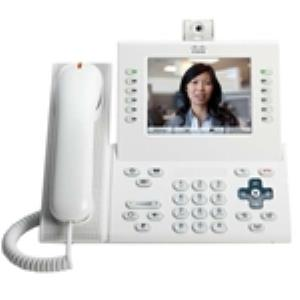 Cisco Unified 9971 IP Phone - Wireless - Desktop, Wall Mountable - Arctic White - 1 x Total Line - VoIP - IEEE 802.11a/b/g - Caller ID - Speakerphone - 2 x Network (RJ-45) - USB - PoE Ports - Color CP