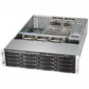 Supermicro SuperChassis SC836BE16-R1K28B System Cabinet Rack-mountable Computer Case 1.28 kW Power Supply ATX/EATX CSE-836BE16-R1K28B