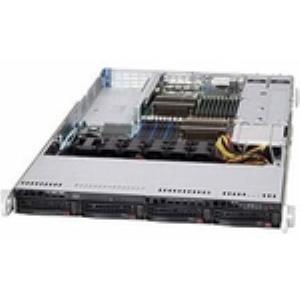 "Supermicro SuperChassis SC819TQ-R700UB Rackmount Enclosure - Rack-mountable - Black - 1U - 5 x Bay - 5 x Fan(s) Installed - 2 x 720 W - 43 lb - 6 x Fan(s) Supported - 1 x External 5.25"" Bay - 4 x Exte"