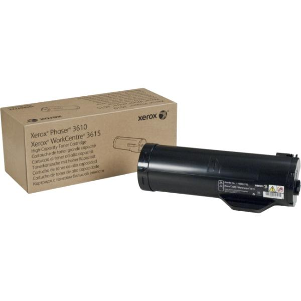 Xerox - High Capacity - black - original - toner cartridge - for Phaser 3610/DN, 3610/DNM, 3610/N, 3610/YDN; WorkCentre 3615/DN, 3615/DNM, 3615V_DNM