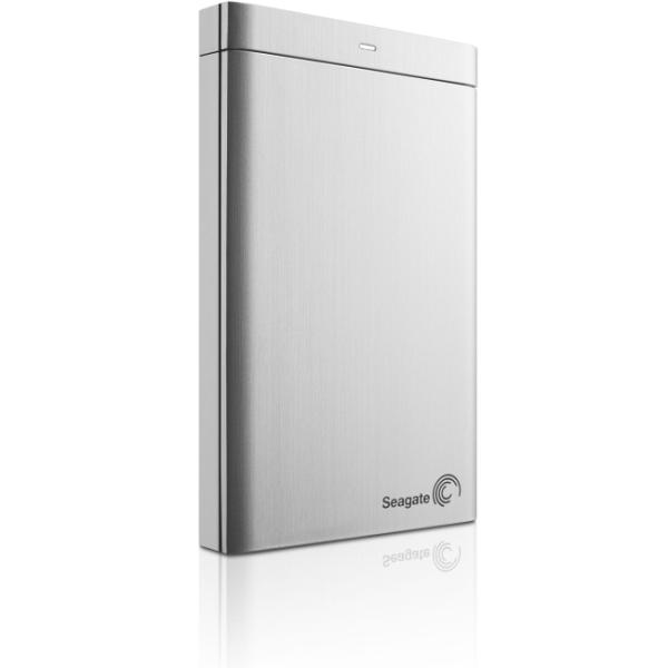 Seagate Backup Plus Portable STDR2000101 2 TB Hard Drive - External - Portable - Silver - USB 3.0 - 2 Year Warranty