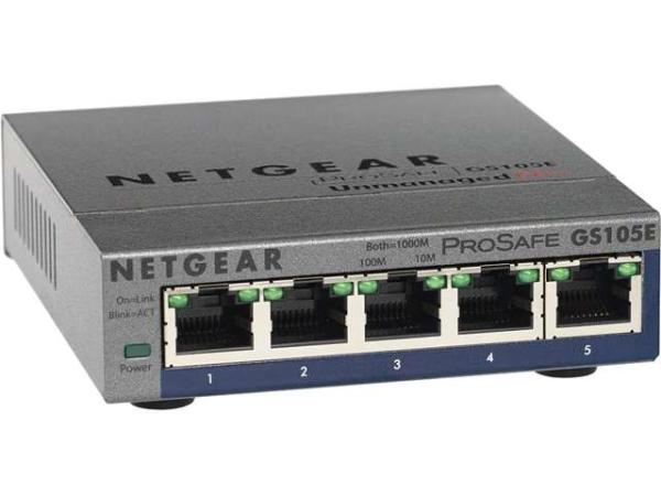PROSAFE PLUS 5 PORT GIG SWITCH