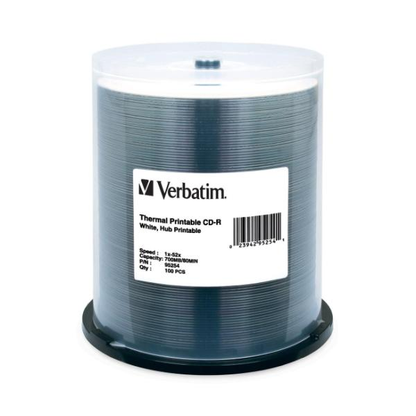 Verbatim - CD-R 700 MB ( 80min ) 52x - spindle - storage media