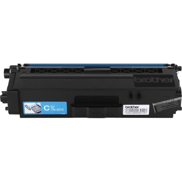 Brother TN331C - Cyan - original - toner cartridge - for HL-L8250CDN, L8350CDW, L8350CDWT