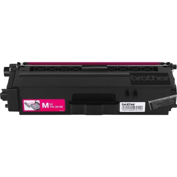 Brother TN331M - Magenta - original - toner cartridge - for HL-L8250CDN, L8350CDW, L8350CDWT