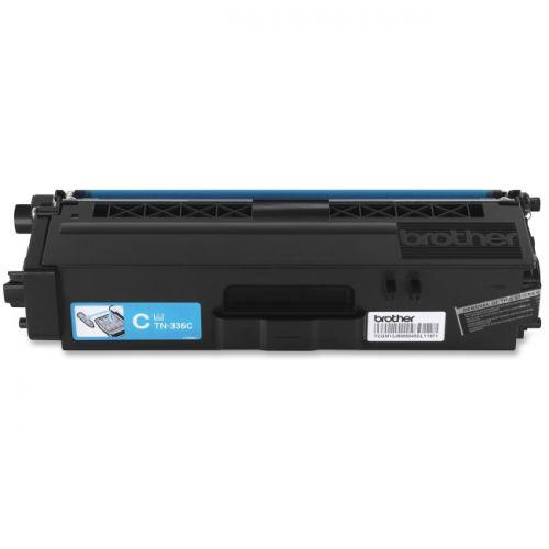 Brother TN336C - High Yield - cyan - original - toner cartridge - for HL-L8250CDN, L8350CDW, L8350CDWT