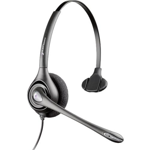 Plantronics SupraPlus H251H Headset - Mono - Wired/Wireless - 300 ft - Over-the-head - Monaural - Supra-aural - Noise Cancelling Microphone 87128-01