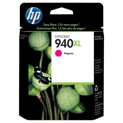 HP 940XL Original Ink Cartridge - Single Pack - Inkjet - High Yield - 1400 Pages - Magenta - 1 Each C4908AN#140