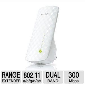 TP-LINK RE200 AC750 Wireless Dual Band Range Extender WI-FI Repeater