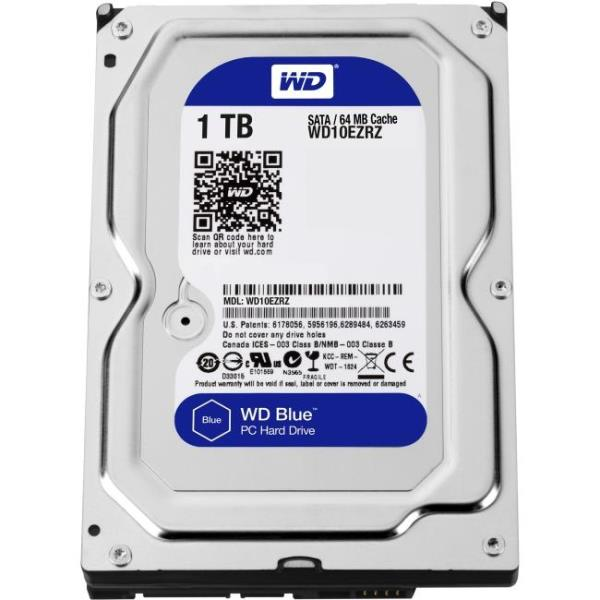 WD BLUE 1000 SATA 6 GB/S 64MB 7200RPM 3.5 3 YEARS WARRANTY WD10EZRZ