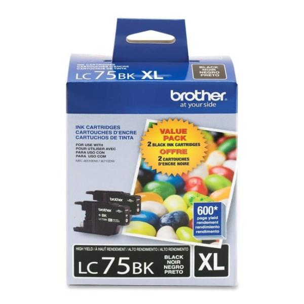 Brother LC752PKS 2 Pack High Yield Ink Cartridge