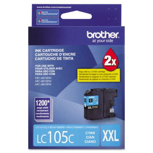 Brother Innobella LC105CS Ink Cartridge - Cyan - Inkjet - Super High Yield - 1200 Pages