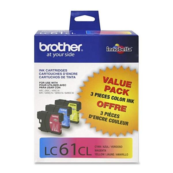 Brother Original Ink Cartridge LC613PKS