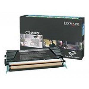LEXMARK C736H1KG HIGH YIELD RETURN PROGRAM TONER CARTRIDGE - BLACK