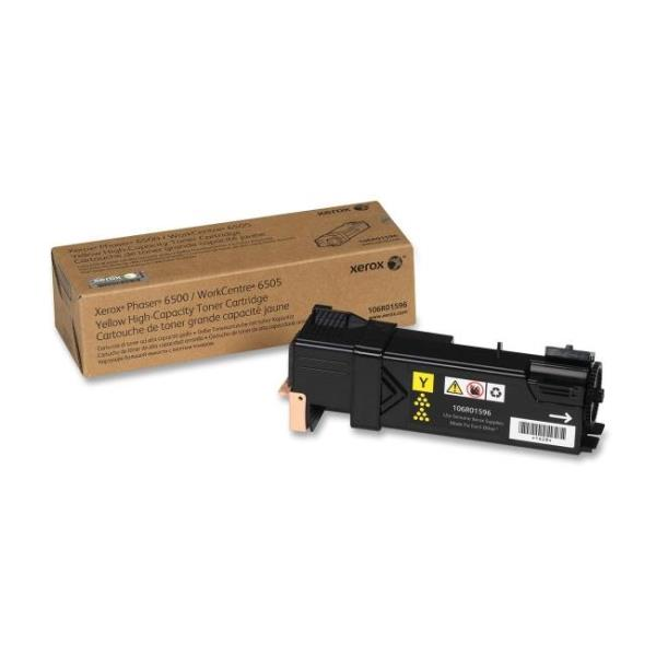 Xerox 106R01596 High Capacity Toner Cartridge - Yellow - Laser - 2500 Page