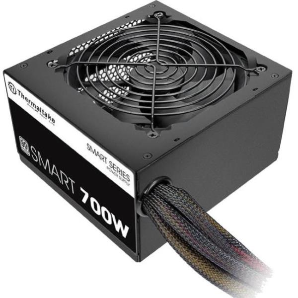 Thermaltake Smart SP-700AH2NKW ATX12V & EPS12V Power Supply - Internal - 120 V AC, 230 V AC Input - 700 W / 3.3 V DC, 5 V DC, 12 V DC, -12 V DC, 5 V DC - 1 +12V Rails - 1 Fan(s) - 87% Efficiency PS-SP