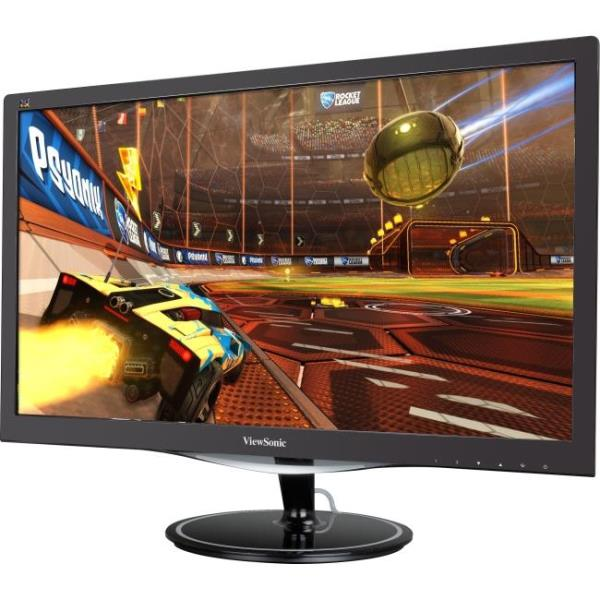 "Viewsonic VX2257-mhd 22"" LED LCD Monitor - 16:9 - Adjustable Display Angle - 1920 x 1080 - 16.7 Million Colors - 250 Nit - 80,000,000:1 - Full HD - Speakers - HDMI - VGA - DisplayPort - 21 W - Black"