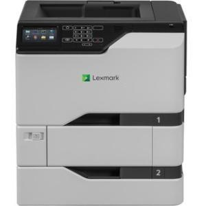 Lexmark CS720dte Laser Printer - Color - 40 ppm Mono / 40 ppm Color - 2400 x 600 dpi Print - Automatic Duplex Print - 1200 Sheets Input 40C9101