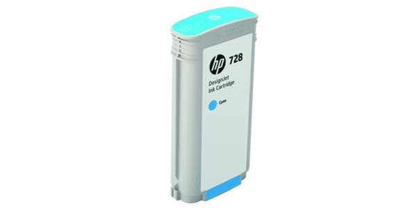 HP 728 Original Ink Cartridge - Cyan - Inkjet F9J67A