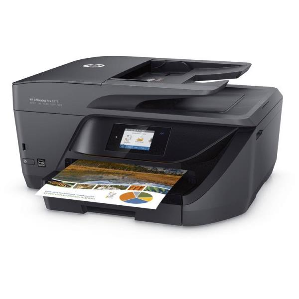 HP Officejet Pro 6978 Inkjet Multifunction Printer - Color - Plain Paper Print - Desktop - Copier/Fax/Printer/Scanner - 30 ppm Mono/26 ppm Color Print - 600 x 1200 dpi Print - Automatic Duplex Print