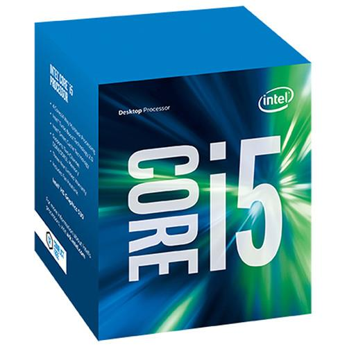 Intel Core i5 i5-7500 Quad-core (4 Core) 3.40 GHz Processor - Socket H4 LGA-1151 - Retail Pack - 1 MB - 6 MB Cache - 64-bit Processing - 3.80 GHz Overclocking Speed - 14 nm - Intel HD 600 Graphics - 6