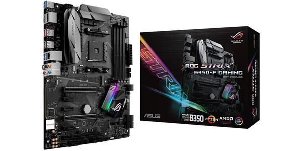ASUS ROG Strix B350-F Gaming AMD RYZEN AM4 ATX Motherboard
