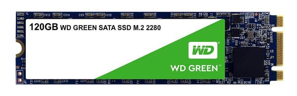 WD Green WDS120G2G0B 120 GB Solid State Drive - SATA (SATA/600) - Internal - M.2 2280 - 545 MB/s Maximum Read Transfer Rate - 3 Year Warranty